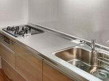 キッチンリフォーム収納が使いやすい、ダイニングとマッチするキッチン